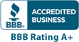 Accredited Business BBB Rating A+ Image